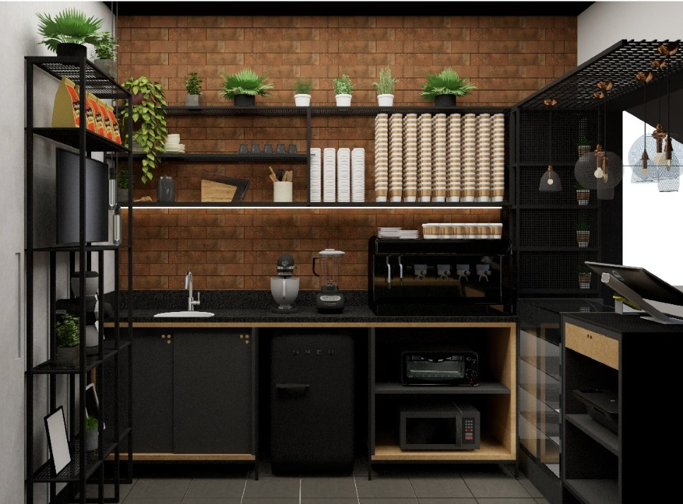 Interiores Franquia Dulce Amore Urban Coffee