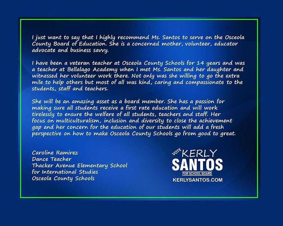 2020 Santos - Testi 12-60 - Ms. Ramirez-