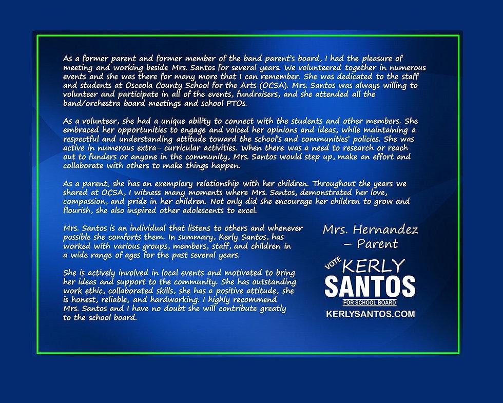 2020 Santos - Testi 9-60 - Mrs. Hernande