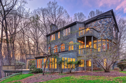 Modern Stone Home