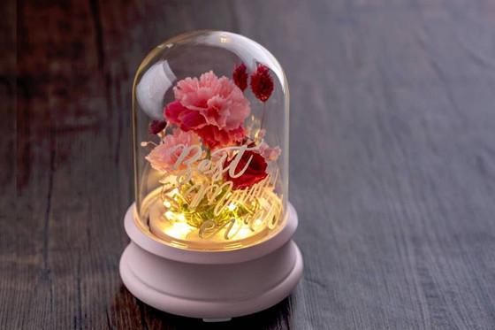 【母親節工作坊】保鮮花 x 西洋書法玻璃瓶工作坊