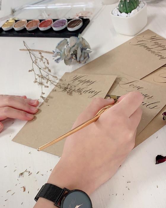 Brush lettering beginner workshop 軟筆西洋書法體驗班 (周日班)