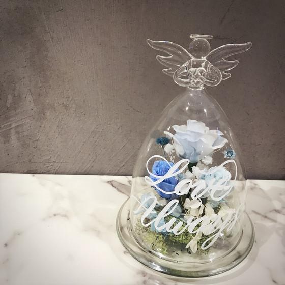 日本保鮮花玻璃瓶 x 西洋書法工作坊