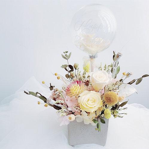 書法花盆 // Flower pot with calligraphy