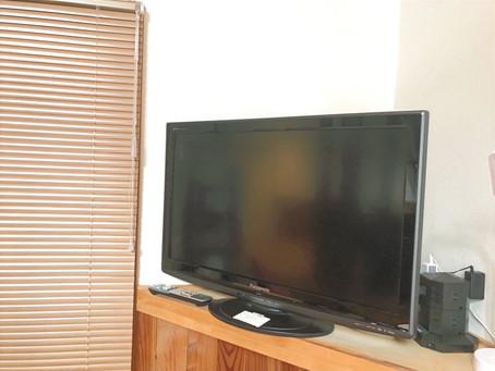 TV設置しました
