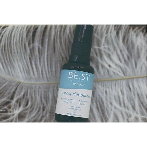Organic Spray Deodorant 30ml (Multifunction anti-inflammation)