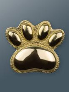Brass Paw Knocker - Brass Finish