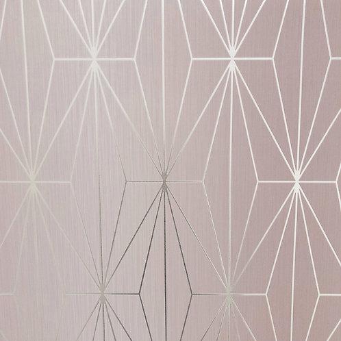 Muriva Luxury Kayla - Blush/Silver