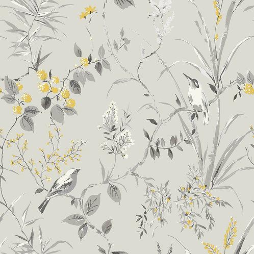 Mariko Floral Grey