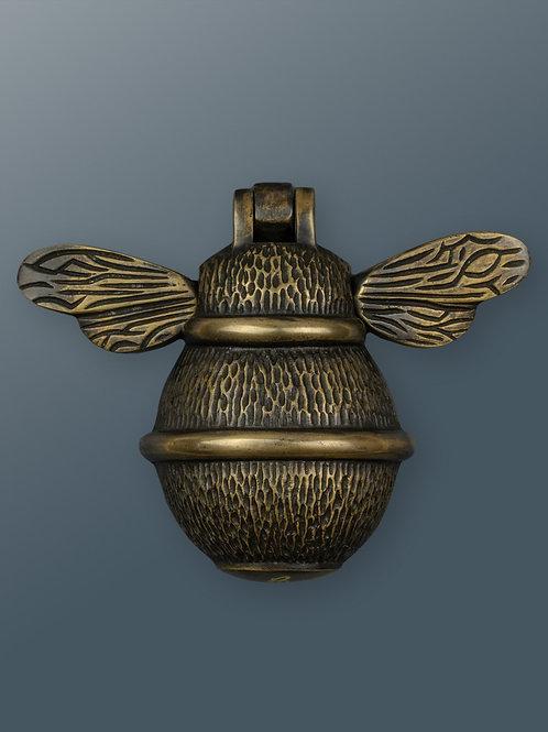 Brass Bee Knocker - Heritage Brass
