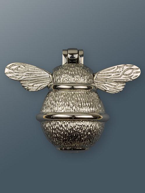 Brass Bee Knocker -Nickel Chrome