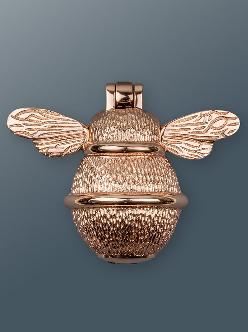 Brass Bee Knocker -  Rose Gold