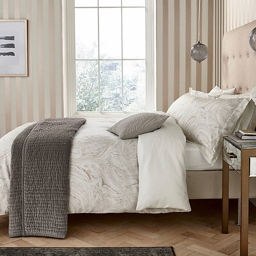 Harlequin Makrana Bedding - Moonstone