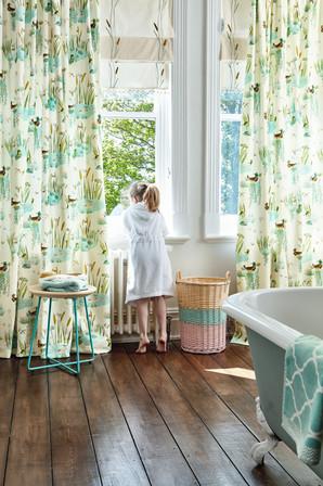 Zommer - Pond - bathroom curtains 082 co