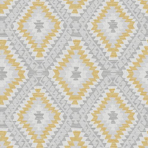 Aztec Geo Grey/Ochre