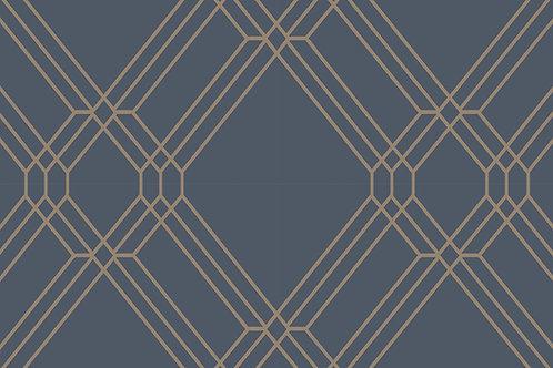 Lattice Blue/ Silver