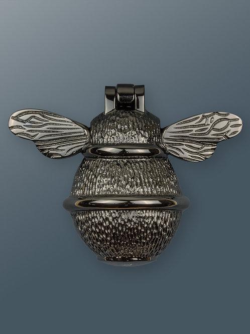 Brass Bee Knocker - Black Nickel