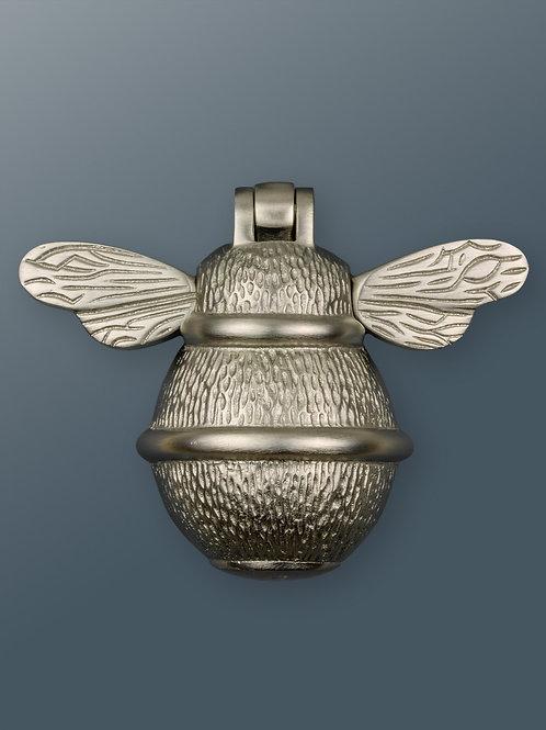 Brass Bee Knocker - Satin Finish