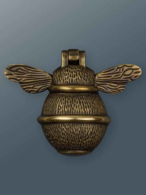 Brass Bee Knocker - Brass