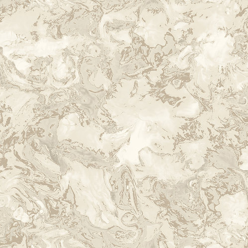 Marble Effect - Cream/Gold