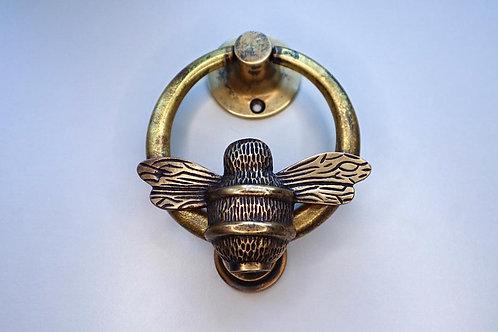 Brass Ring Bee Knocker - Heritage Brass