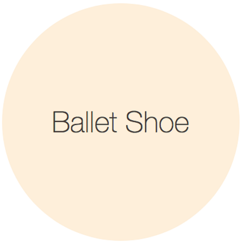 Earthborn Clay Paint - Ballet Shoe