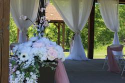 hazen ceremony decor