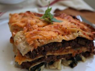 9-veg lasagne
