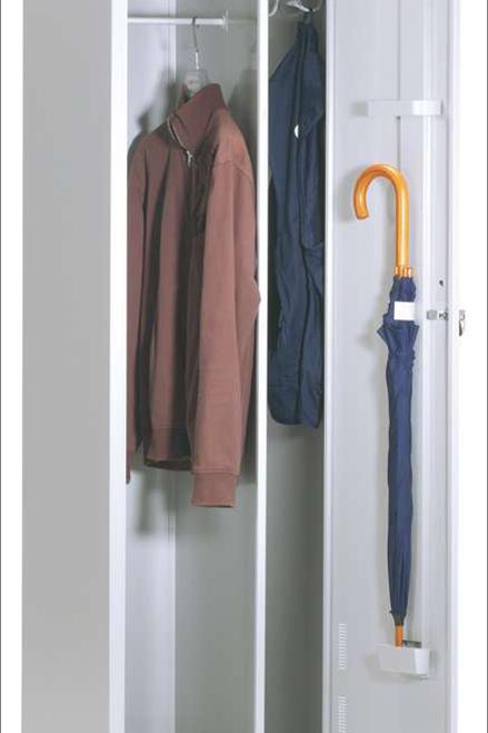 Armário vestiário simples sujos/limpos