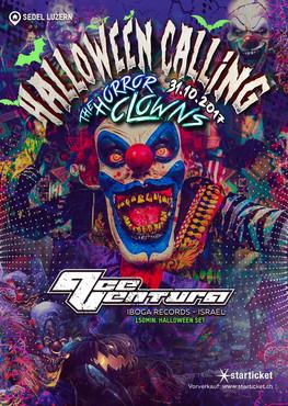 Halloween Calling The Horror Clowns 2017
