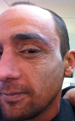 maquillage vieillissement latex