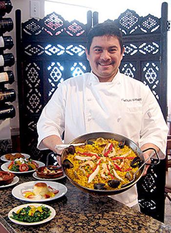 Chef Nicolas Guardado