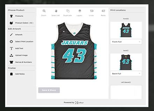 Custom Men's Lacrosse Jerseys