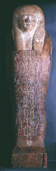 Anthropoid Coffin of Iret-hor-irou