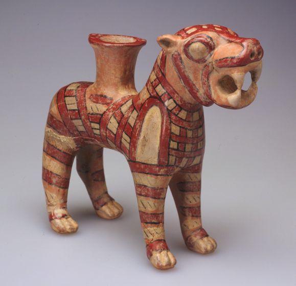 Lion-Shaped Rhyton (Libation Vessel)