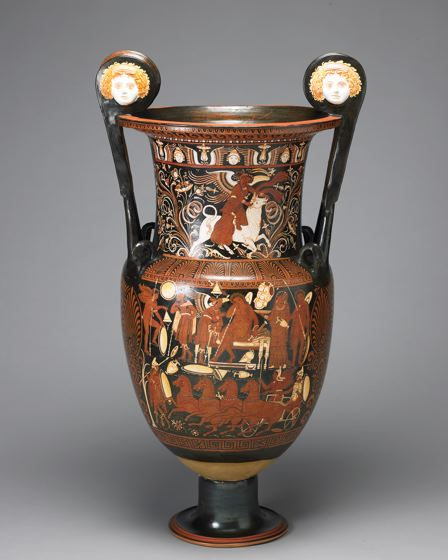 Red-Figure Volute Krater