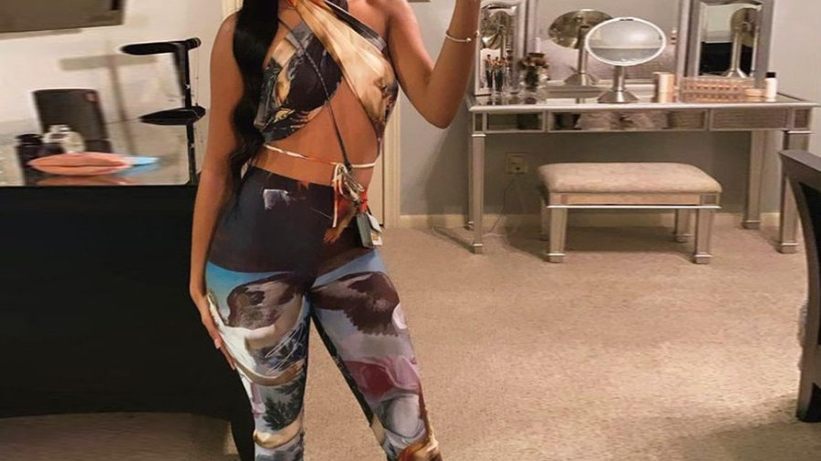 Sassy Two Piece Sets Halter Top and Pants