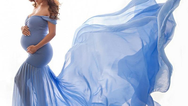 Heavenly Maternity Dress