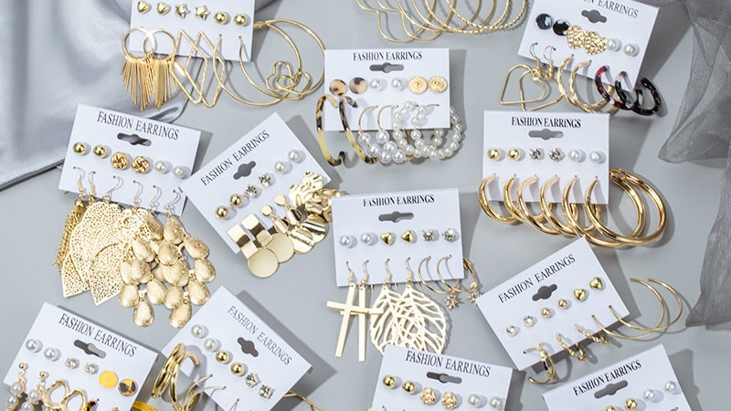 Cute Earrings Set