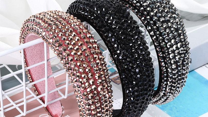 Rhinestone Crystal  Unique Headband