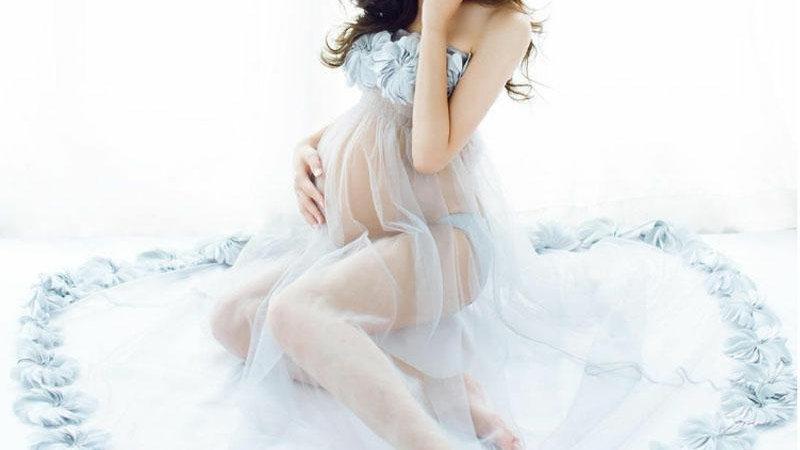 Flower Maternity Dresses