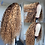 Thumbnail: Curly Lace Front Human Hair Wigs Pre-Plucked