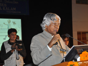 (Late) Dr APJ Abdul Kalam at the Festival Closing, Dehra Dun 2010