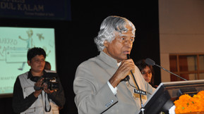 (Late) Dr APJ Abdul Kalam at the Festival Closing, Dehra Dun 2010
