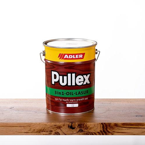 Pullex 3in1 LASUR ADLER שמן לעץ חיצוני  5 ליטר- אלון