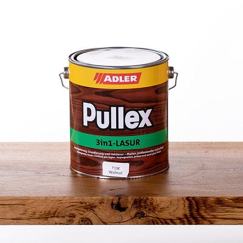 Pullex 3in1 LASUR ADLER שמן לעץ חיצוני 2.5 ליטר - אגוז