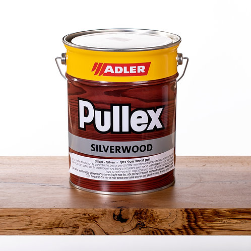 Pullex SILVERWOOD שמן לעץ חיצוני5  ליטר - כסף