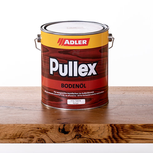 Pullex BODENOL שמן5  ליטר חודרני לעץ טרופי חיצוני Kongo
