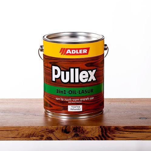 Pullex 3in1 LASUR ADLER שמן לעץ חיצוני 5 ליטר- פוליסנדר