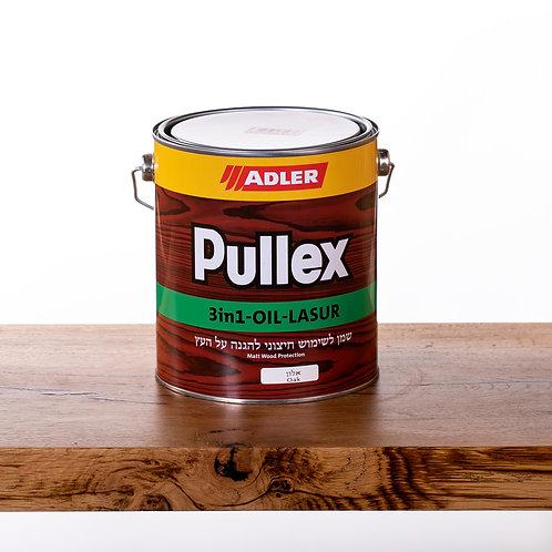 Pullex 3in1 LASUR ADLER שמן לעץ חיצוני 2.5 ליטר - אלון